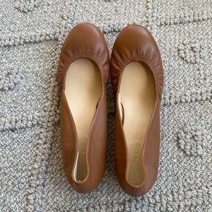 J Crew Anya leather ballet flats. Size 6.